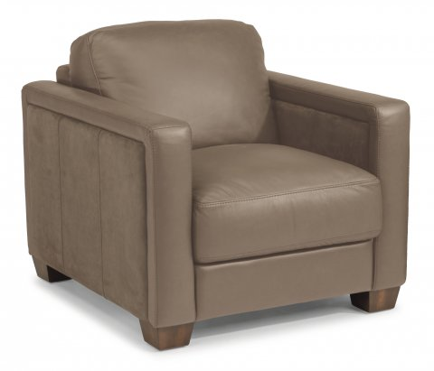 Wyman Leather Chair 1337-10 in 450-84