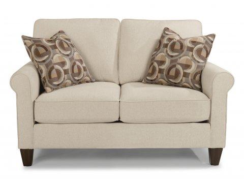 fabric loveseat sofas and loveseats   reclining sofas and sleepers   flexsteel  rh   flexsteel