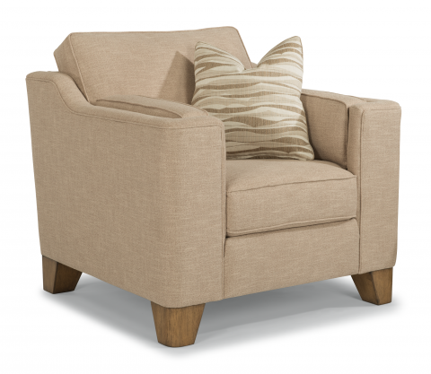 Fabric Chair. Chairs for Home   Chairs with Ottoman Furniture   Flexsteel