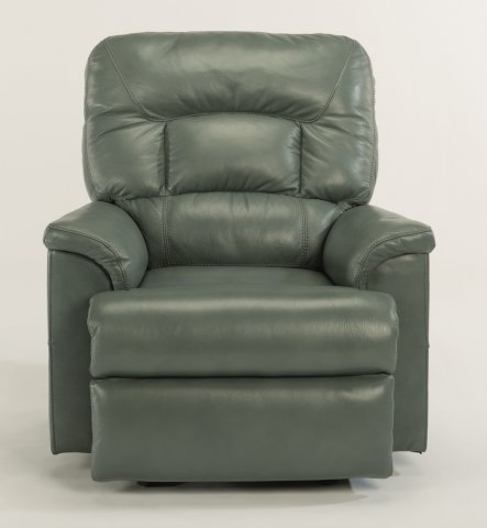 Great Escape Leather Power Gliding Recliner with Power Headrest 1221-54PH in LSP-42