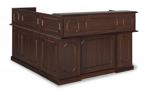 Governors Right Reception L Desk 7350-66