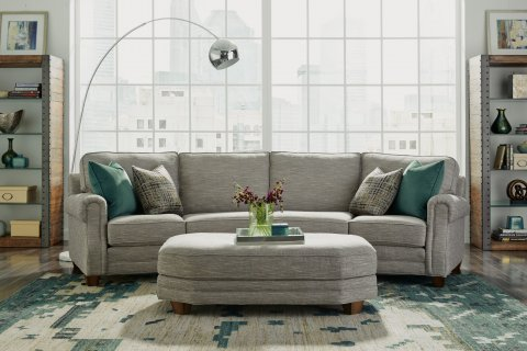 Gretchen Conversation Sofa Lifestyle