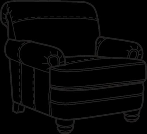 Bay Bridge Chair B3790-10
