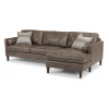 Vivian Leather Sectional 1195-SECT shown with -25 & -28 pieces in 474-82