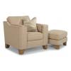 Arrow Chair 7105-10 & Ottoman 7105-08 in 560-80