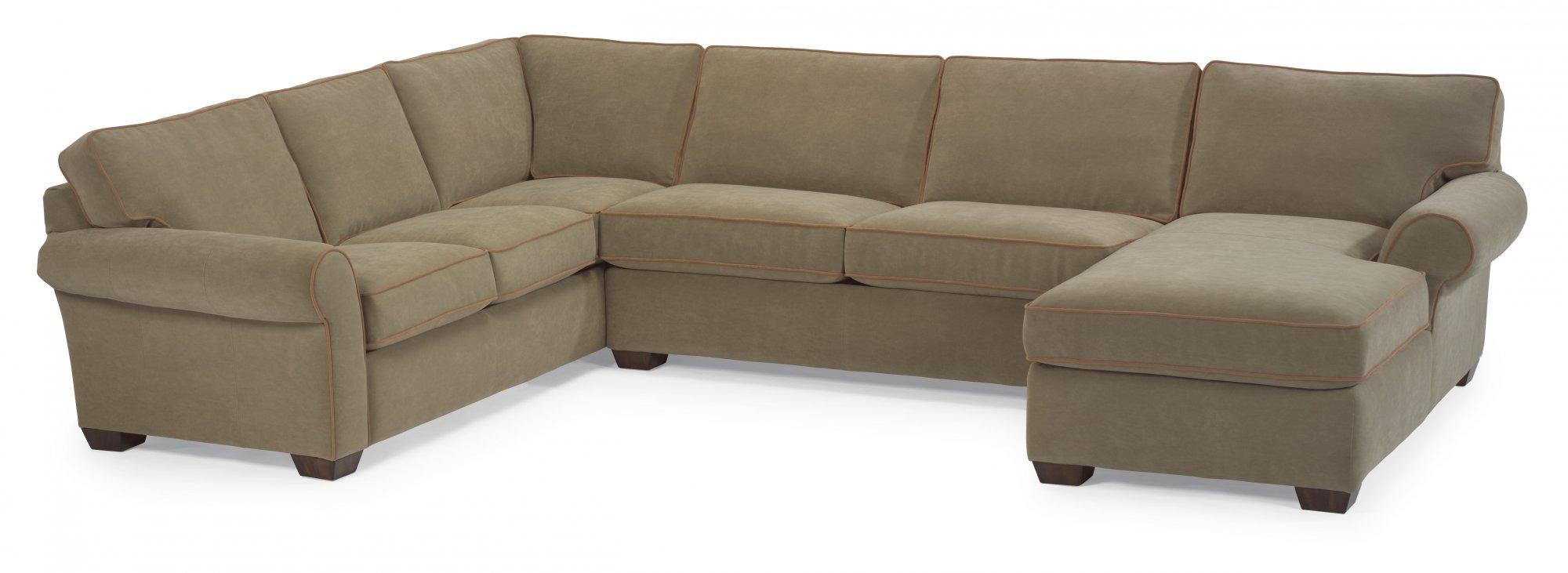 Leather Sectional  sc 1 st  Flexsteel : flexsteel sectional leather - Sectionals, Sofas & Couches