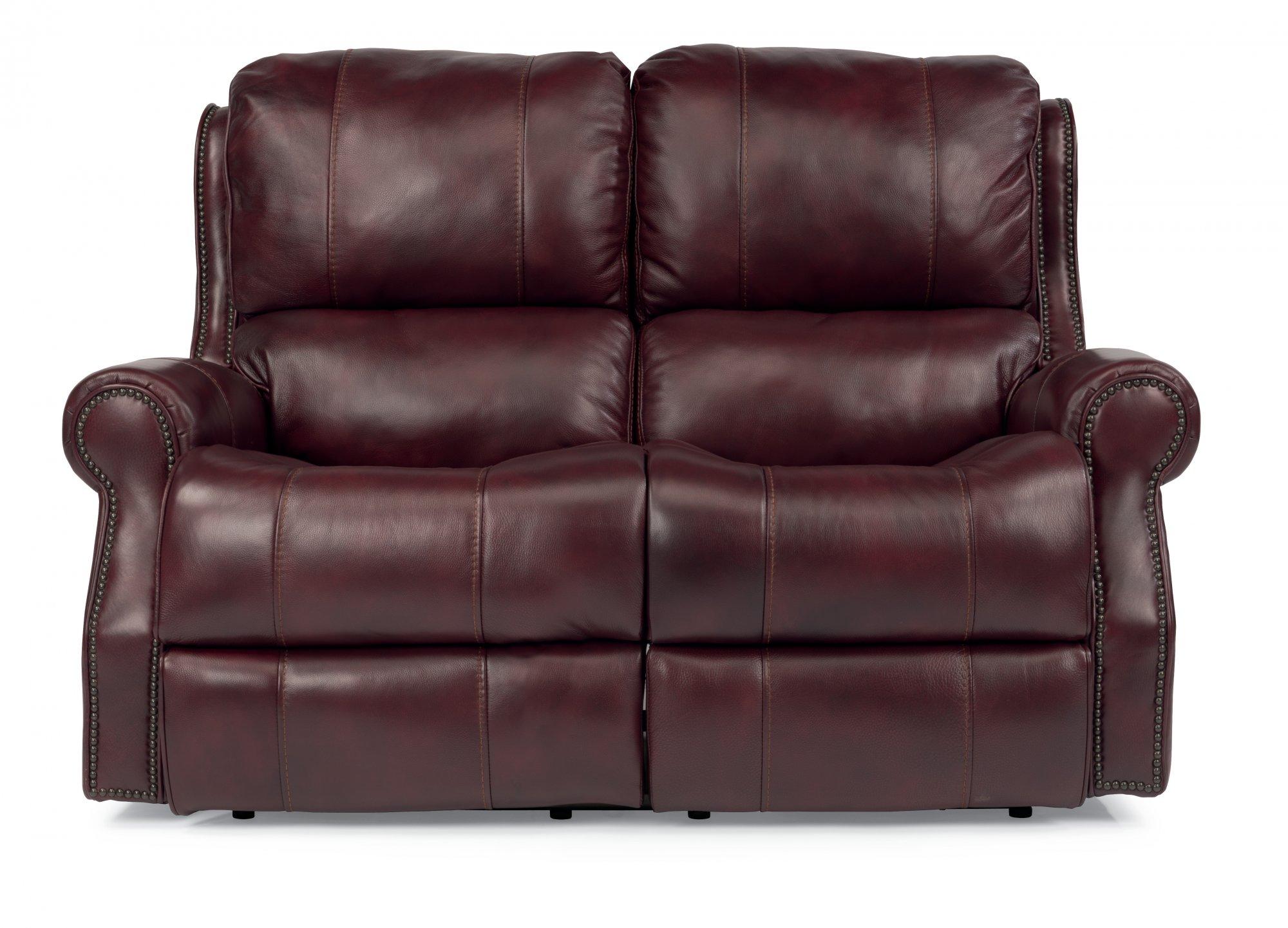 reclining and leather loveseat flexsteel on com sofa aifaresidency furniture imposing