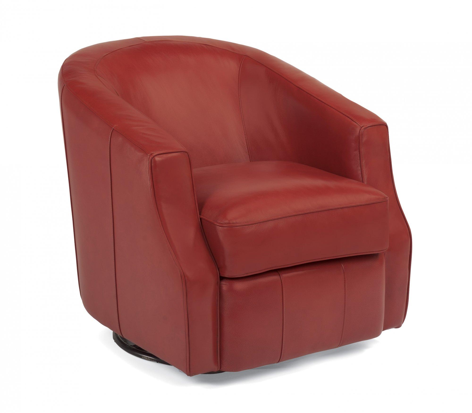 Moonwalk – Leather Swivel Glider Chair