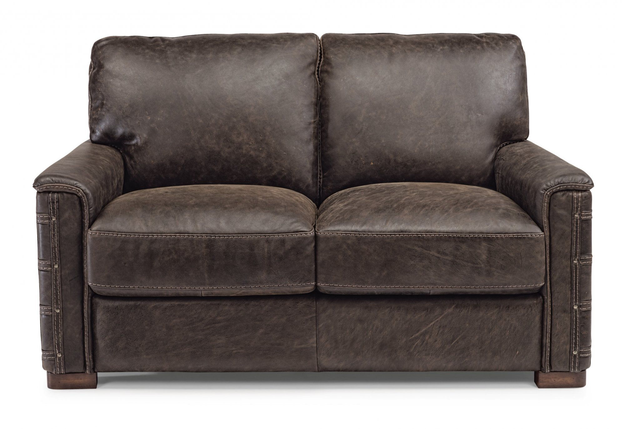 Sofas and loveseats reclining sofas and sleepers flexsteel leather loveseat parisarafo Gallery