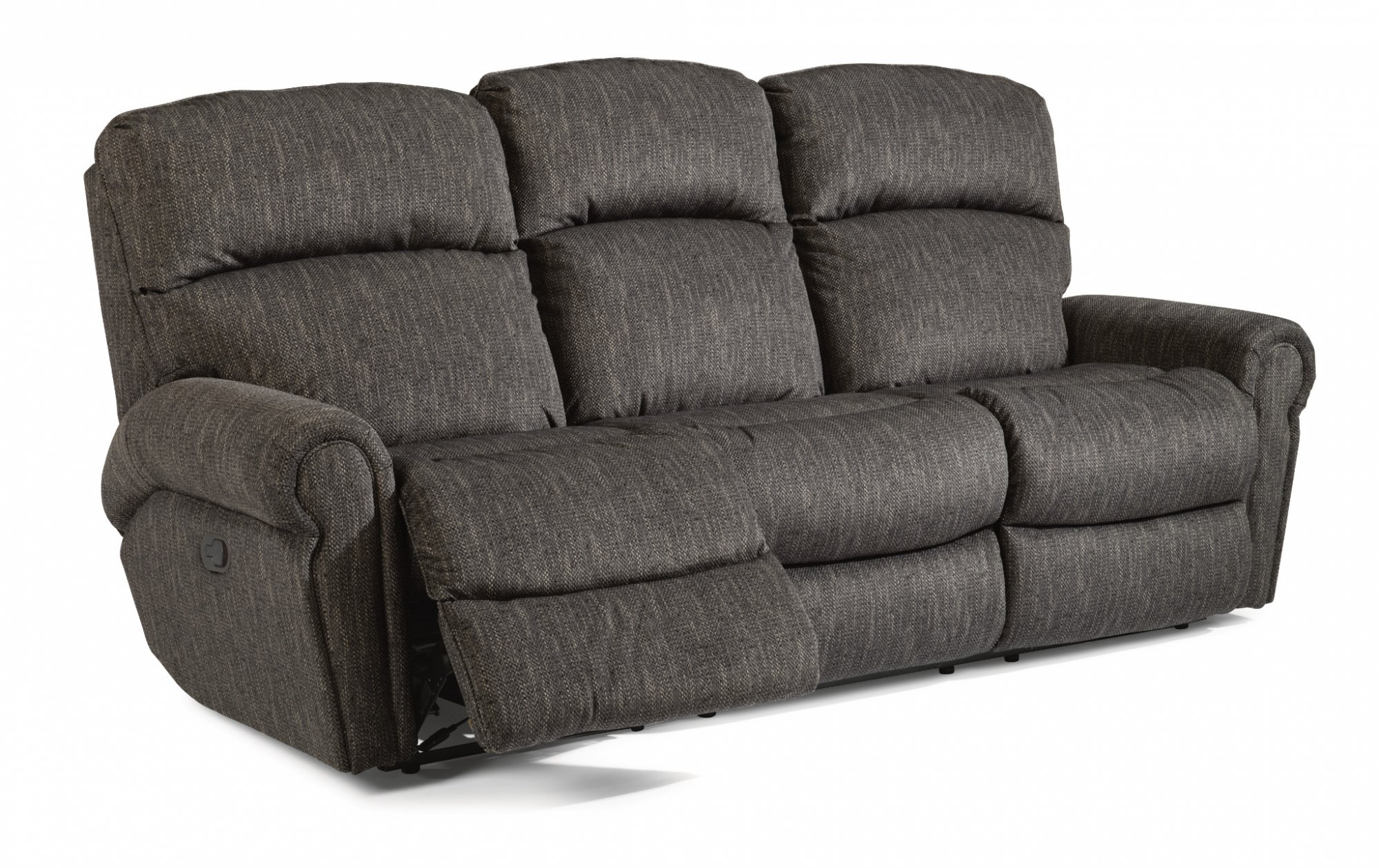 Reclining chairs sofas reclining furniture from flexsteel fabric reclining sofa parisarafo Image collections