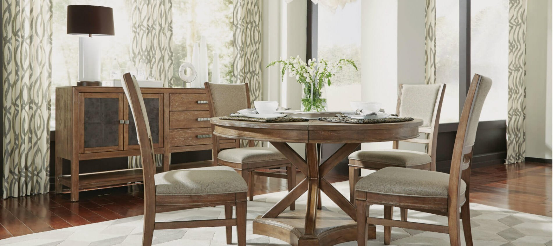 Hampton Furniture Collection Decorating Home Dining Area