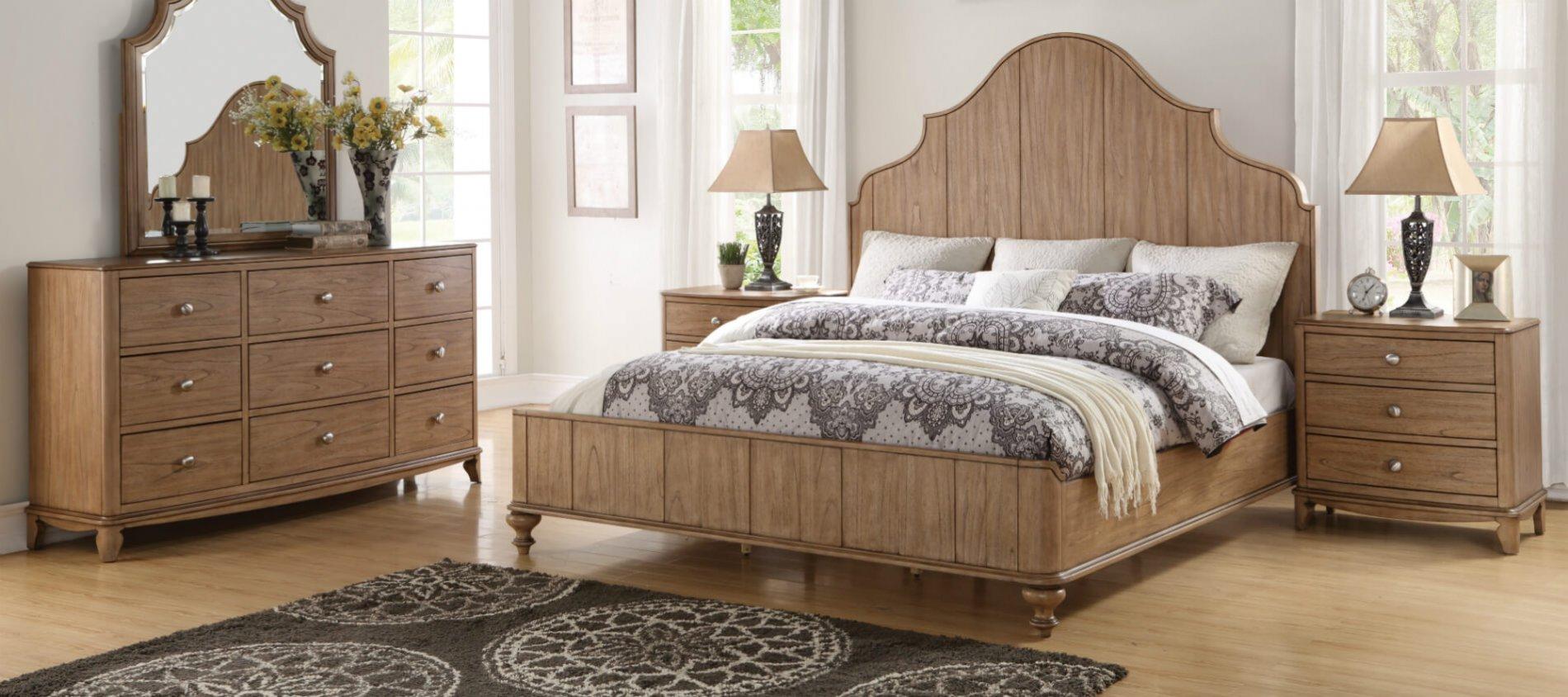 Miramar Furniture Collection Decorating Modern Bedroom