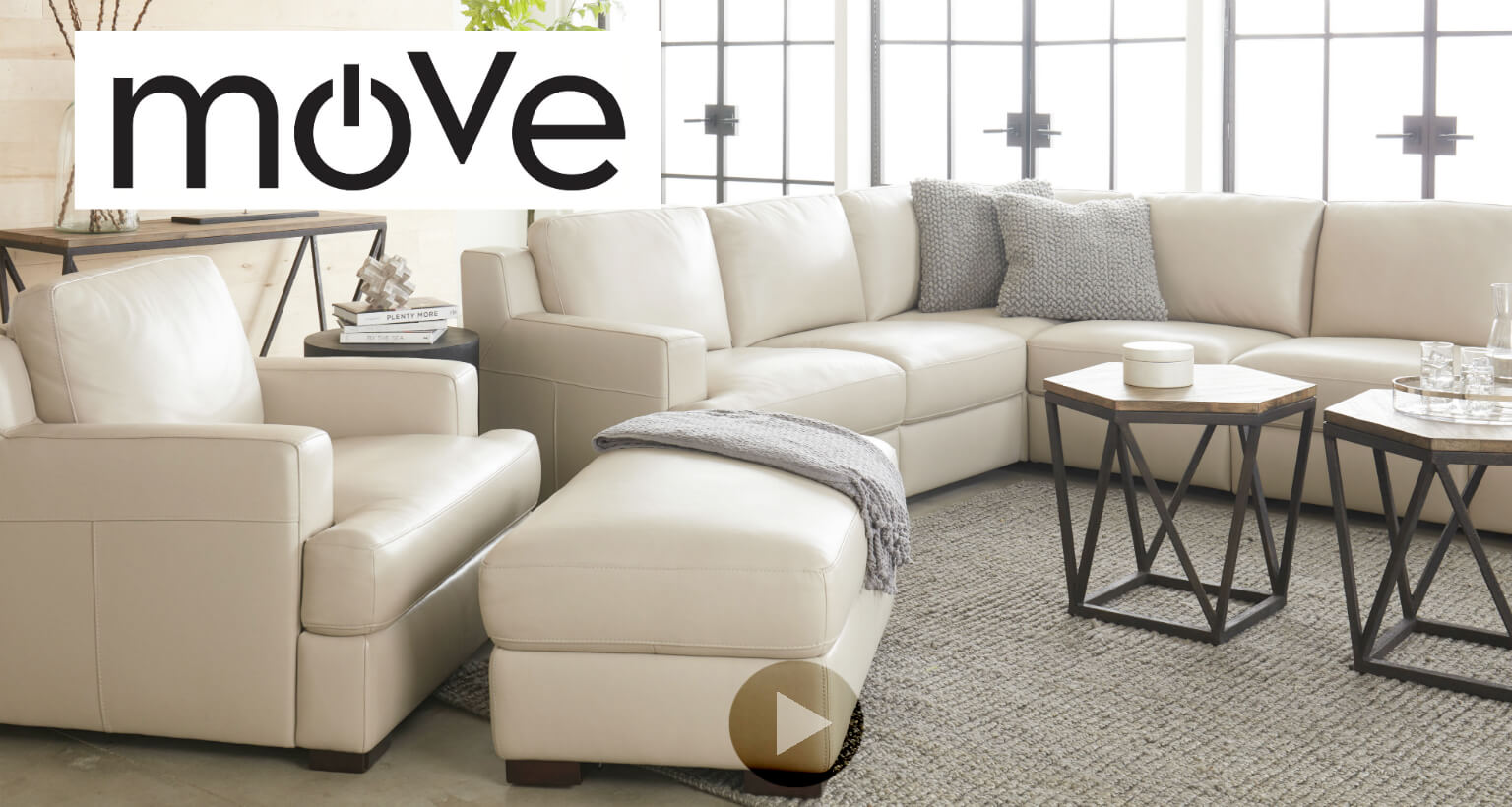 Move by Flexsteel - Stationary Motion Furniture