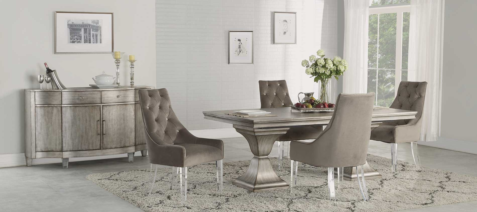 Levin Furniture Dining Room Set With Buffet Near Seaworld