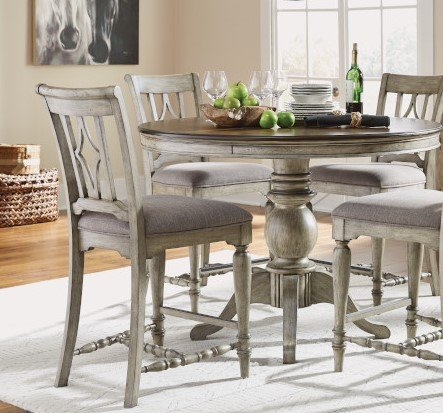 Metal And Wood Dining Room Sets