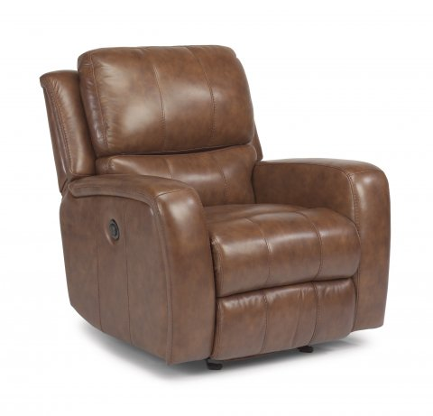Hammond Leather Power Gliding Recliner 1157-54P in 555-70