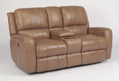 Admirable Hammond Leather High Back Power Reclining Loveseat W Gamerscity Chair Design For Home Gamerscityorg