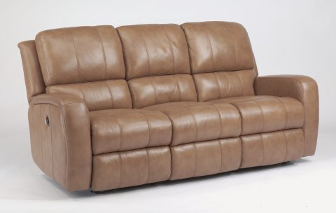 Hammond Leather Power Reclining Sofa 1157-62P in 555-74
