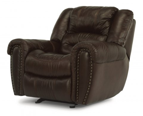 Crosstown Leather Gliding Recliner 1210-54