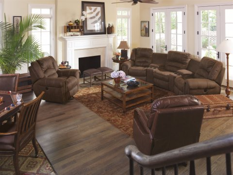 New Town Fabric Power Recliner Lifestyle
