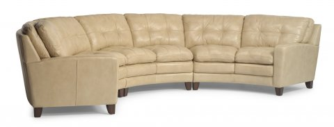 South Street Leather Sectional shown with 27, 29, & 28 pieces in 014-11