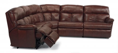 Triton Reclining Sectional 3098-SECT with 57, 59, 23, 19, & 58 pieces in 034-60