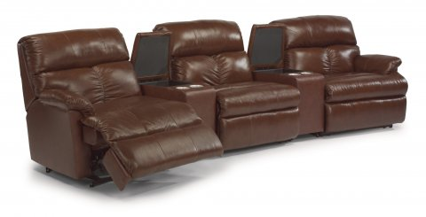 Triton Reclining Sectional 3098-SECT with 57, 70, 59, 70, & 58 pieces in 577-72