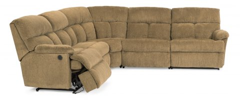 Triton Power Reclining Sectional 7098-SECTP with 57M, 59M, 23, 19, & 58M pieces