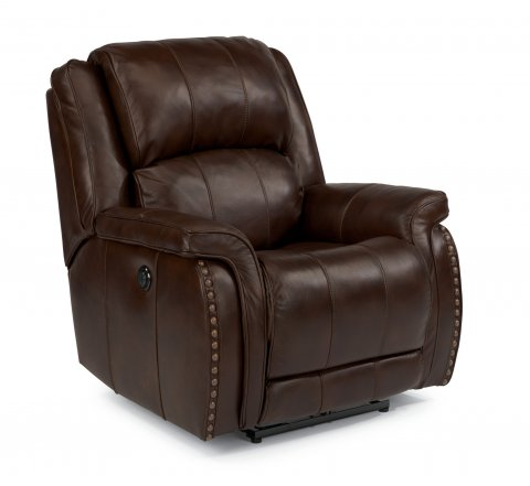 Lorenzo Leather Power Recliner 1244-500P in 418-76