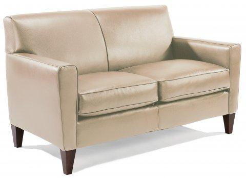 Mathis Leather Loveseat C3966-20