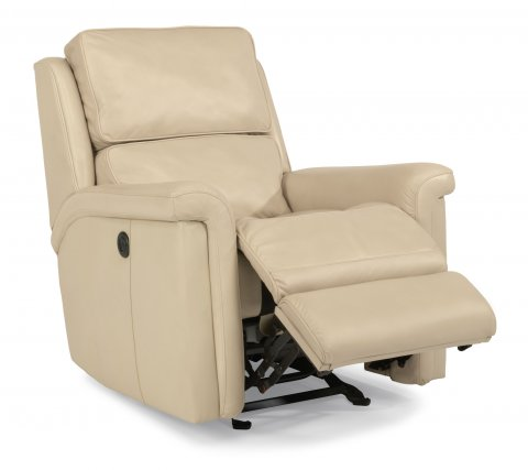 Tosha Leather Power Gliding Recliner 1283-54P in 014-86