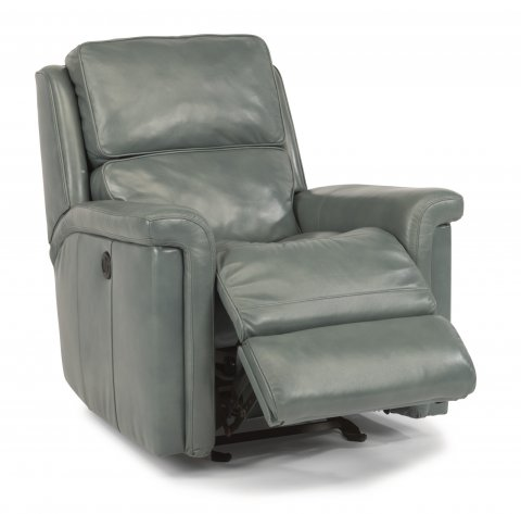 Tosha Leather Power Gliding Recliner 1283-54P in LSP-42