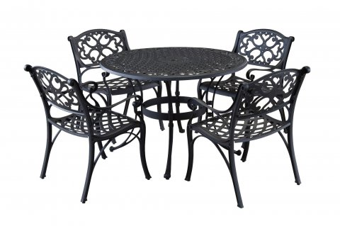 Del Rey Outdoor Table and Chairs (5 pc.)  D5554-308