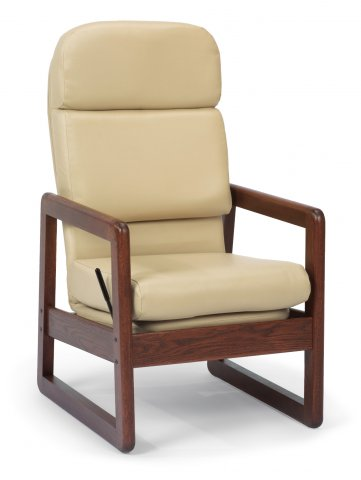 Avalon Sled-Based Rocking Chair A5669-14