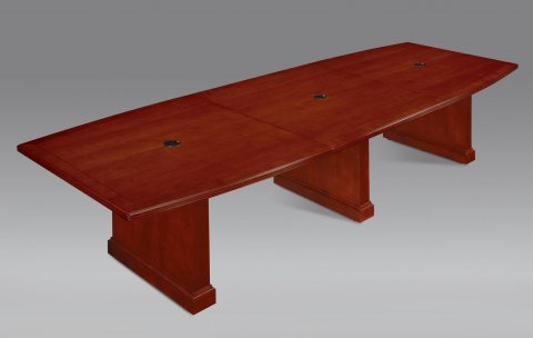 Belmont 12' Boat Shaped Expandable Conference Table 7132-144EX