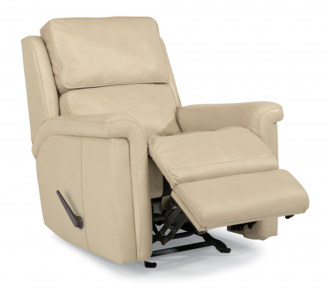 Tosha Leather Rocking Recliner 1283-510 in LSP-86