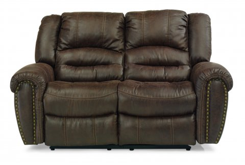 New Town Fabric Power Reclining Loveseat 1410-60P in 136-70