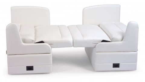 Dinette Seating Left Booth 035-44LD and Right Booth 035-44RD