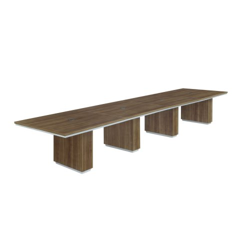 Pimlico 16' Rectangular Expandable Conference Table 7027-192REX