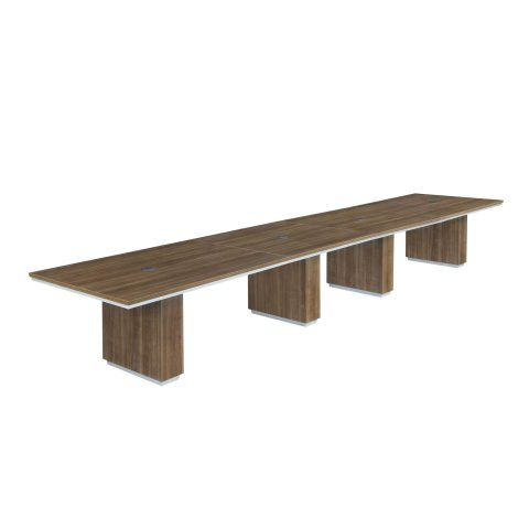 Pimlico 18' Rectangular Expandable Conference Table 7027-216REX