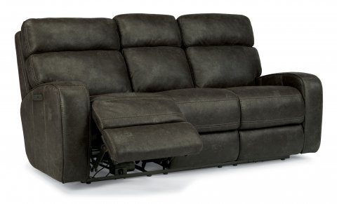 Tomkins Fabric Power Reclining Sofa with Power Headrests 1326-62PH in 167-02