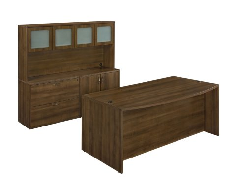 Fairplex Executive Desk/Storage Suite 7007-901G