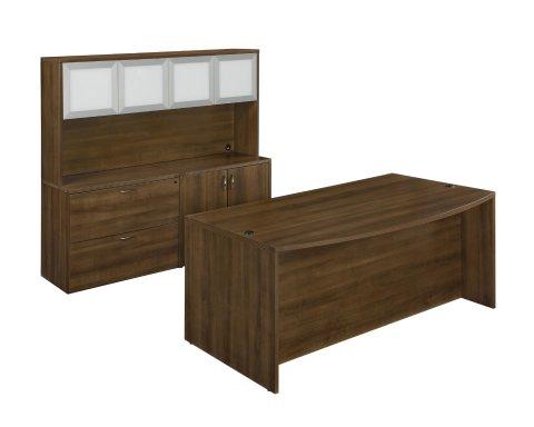 Fairplex Executive Desk/Storage Suite 7007-901GW