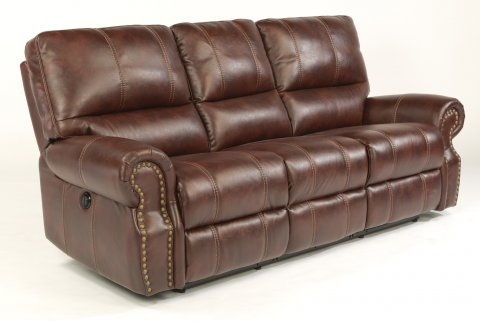 Carlton Fabric Power Reclining Sofa 1672-62P in 220-54