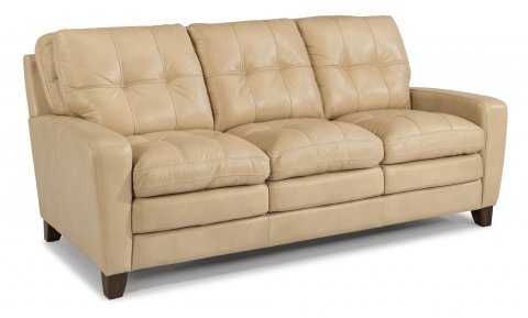 South Street Leather Sofa 1644-31 in 014-11
