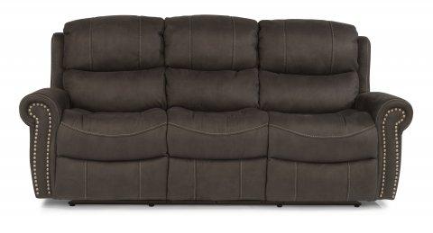 Walden Fabric Reclining Sofa 1396-62 in 136-02