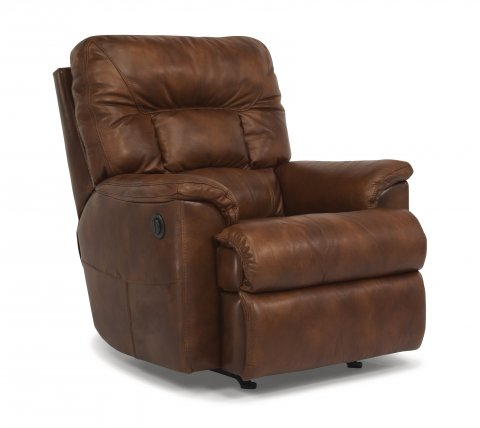 Great Escape Leather Power Recliner 1221-500P in 418-75