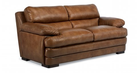 Dylan Leather Two-Cushion Sofa 1127-30 in 908-80