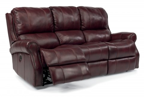 Miles Leather Power Reclining Sofa 1533-62P in 418-62