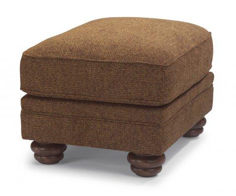 Bexley One-Tone Fabric Ottoman 8646-08   8648-08 in 825-70